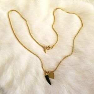 Rebecca Minkoff Gold Heart Necklace 2125